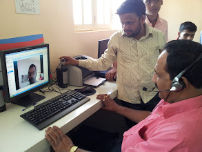 Photo: Unni,  gangadhar and Ittamadu panchyat PDO On video conference