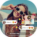 CallMe: Meet New People, Free Video chat Guide icon