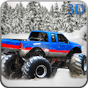 Snow 4x4 Monster Truck Stunt icon