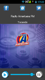Rádio Americana FM- screenshot thumbnail