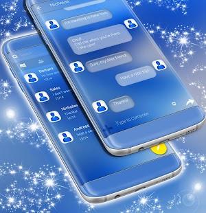 SMS Theme Blue - náhled