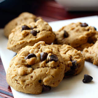 Gluten Free and Dairy Free Maple Chocolate Chip Cookies.