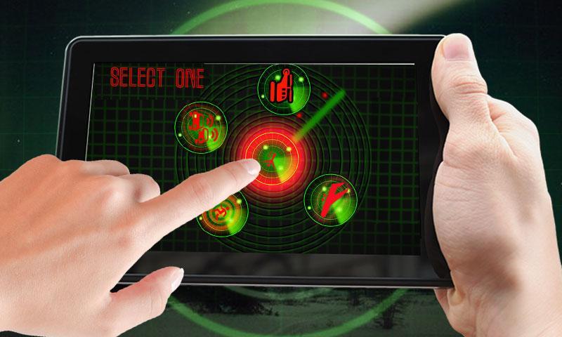 android Radar Scanner 3d Sim Prank Screenshot 0
