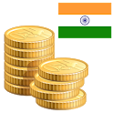 Coins of India old and new from 1000 year icon