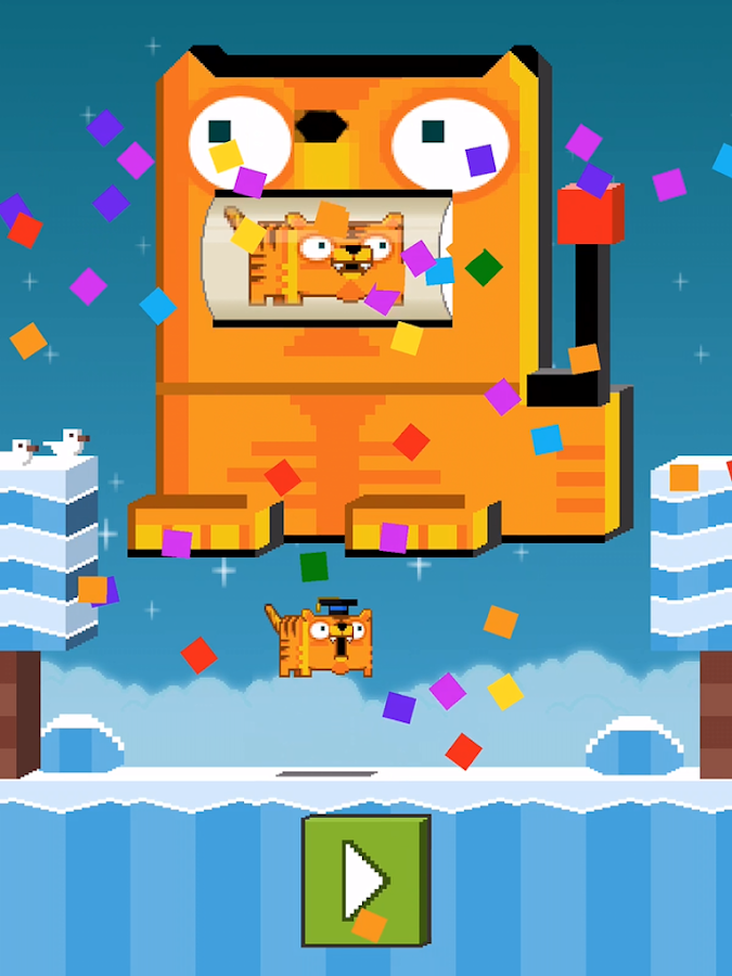 Crossy Cat: Road to Fishland- screenshot