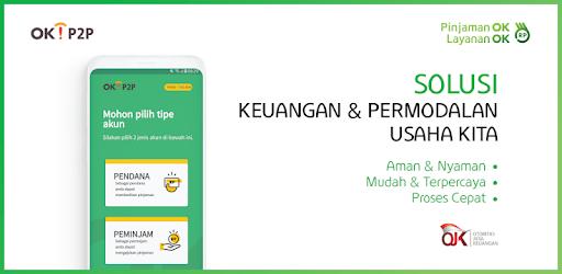 OK!P2P - Pinjaman ok Layanan ok - Google Play-н апп