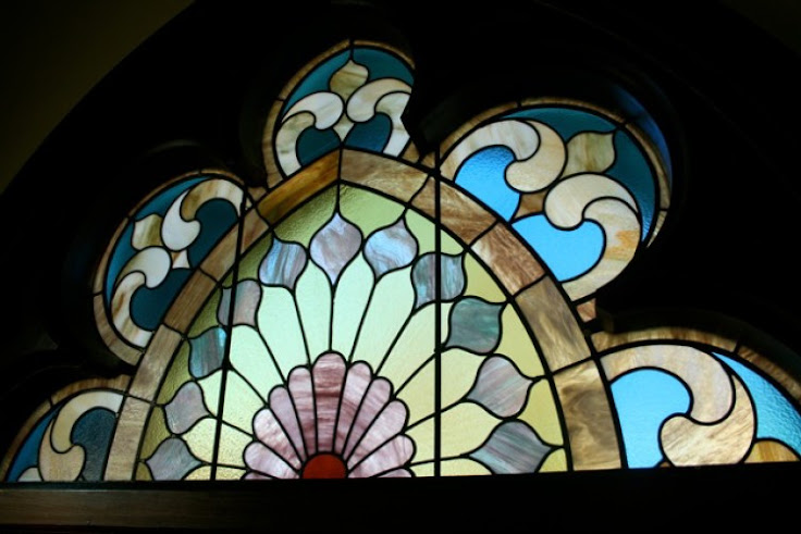 Stained glass window memorials