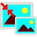 Resize photo icon