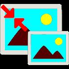 Resize photo icon