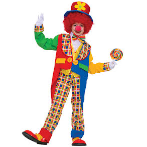 Clowndräkt barn toddler