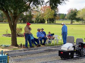 Photo: Bob Barnett, Gary Brothers, Bill Smith, and Bill Howe       2013-1116 RPW
