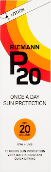 Riemann P20 Once a Day Sun Protection SPF 20 Medium Lotion - 100ml