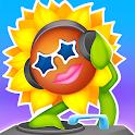 Dancing Sunflower:Rhythm Music icon