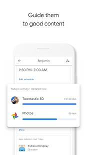 Google Family Link for parents Screenshot
