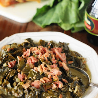 Southern Collard Greens Recipe (Printable recipe)