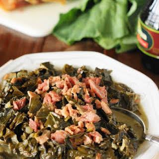 Southern Collard Greens Recipe (Printable recipe).