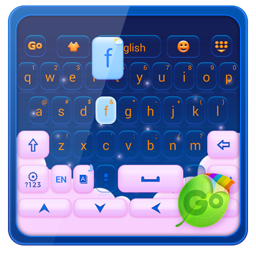 Pink Cloud GO Keyboard Theme
