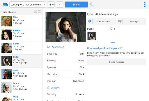 Meet-me: Dating, chat, romance 5.0.28 Screenshots 7