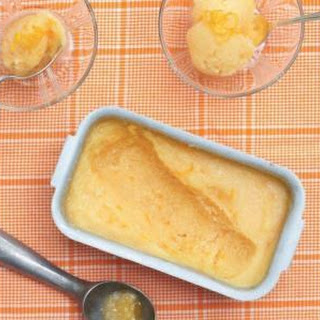 Old-Fashioned Orange Sherbet