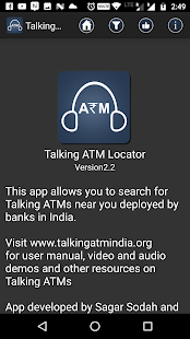 Talking ATM Locator- screenshot thumbnail