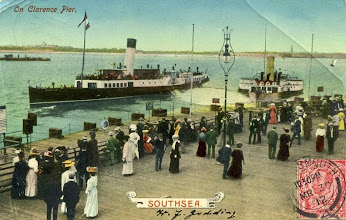 Photo: Southsea (near Portsmouth) on Clarence Pier
