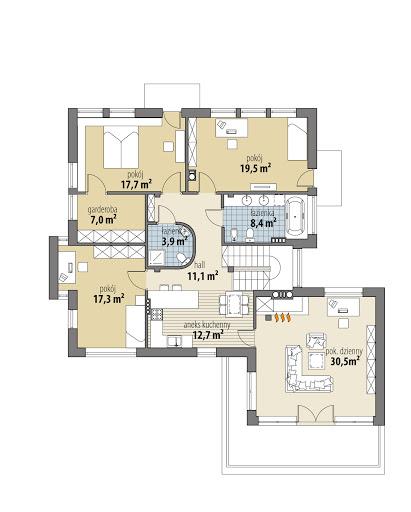 Soho II - Rzut piętra