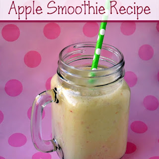 Yummy Apple Smoothie Recipe for Kids.