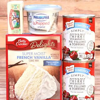 Cherry Cheesecake Dump Cake Recipe!.