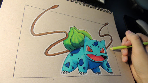 How to draw Pokefusion