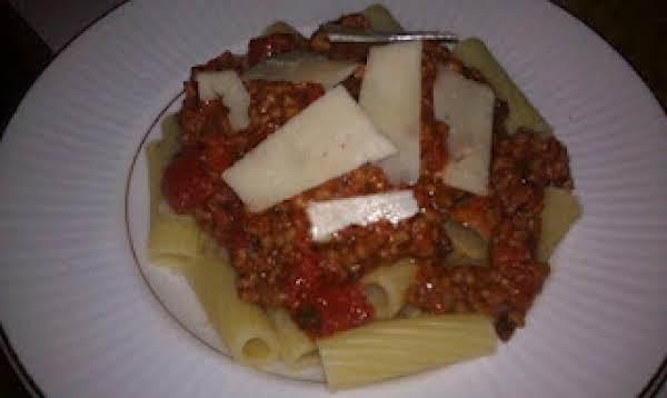Rigatoni Alla Meat Sauce Recipe