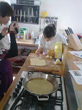 Photo: Spezial Kochkurs in der Wiener Kochlounge für japanische Gäste die ein Wiener Cafe in Japan eröffnen.