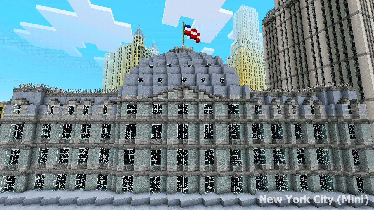 New York City Map For MCPE Android Apps On Google Play - Nyc map minecraft