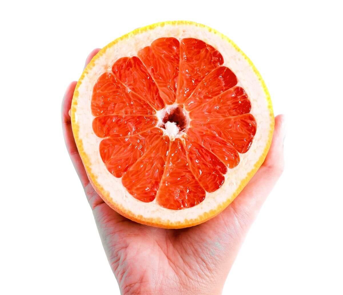 grapefruit mask