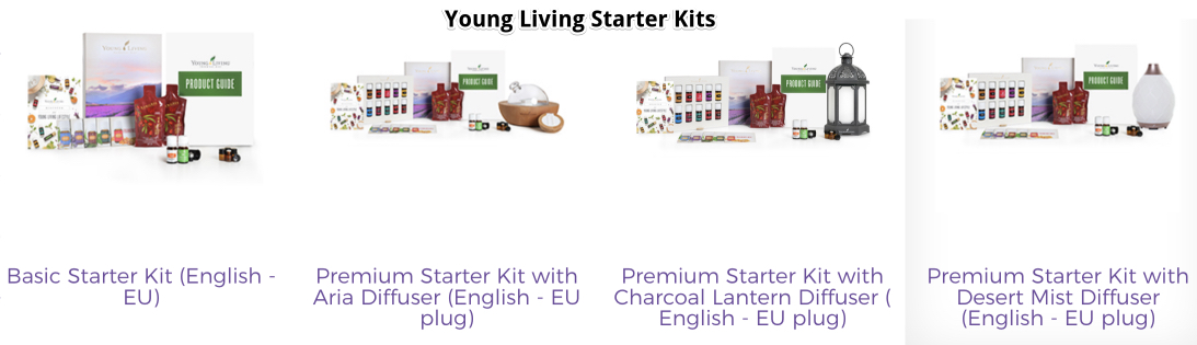 Young Living's Starter Kits