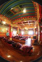 Photo: Inside the monastery
