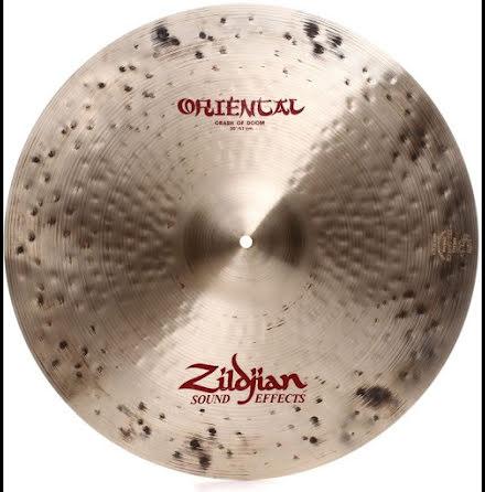 """20"""" Zildjian Oriental - Crash Of Doom"""