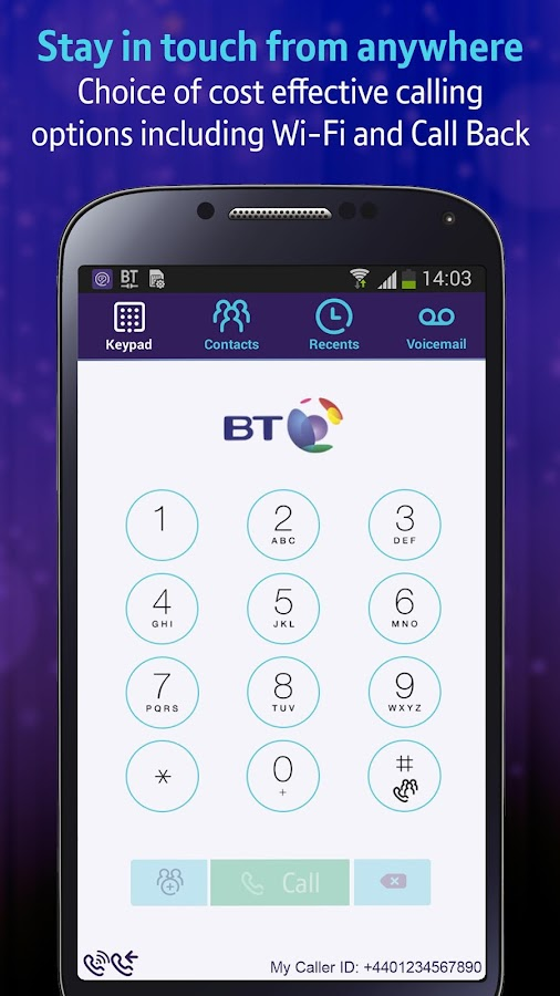 BT One Voice anywhere- screenshot
