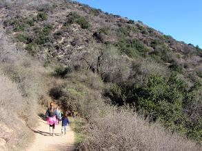 Photo: Trail users on Garcia Trail