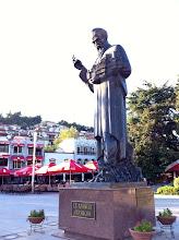 Photo: Ohrid city square.