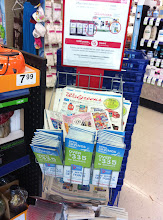 Photo: I always grab a sales paper and coupon book on the way in to look for deals I may have missed while on the App.