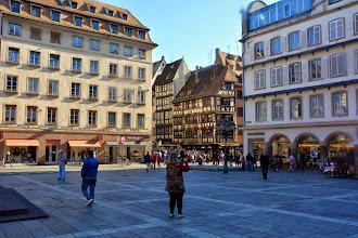 Photo: The city center plaza