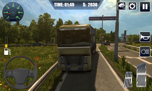 Heavy Cargo Truck Driver 3D 1.13 Cheat screenshots 4