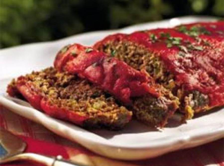 Spanish meatloaf recipe just a pinch recipes for Jj chicken and fish menu