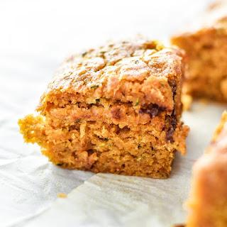 Pumpkin Spice Zucchini Bread Squares Recipe
