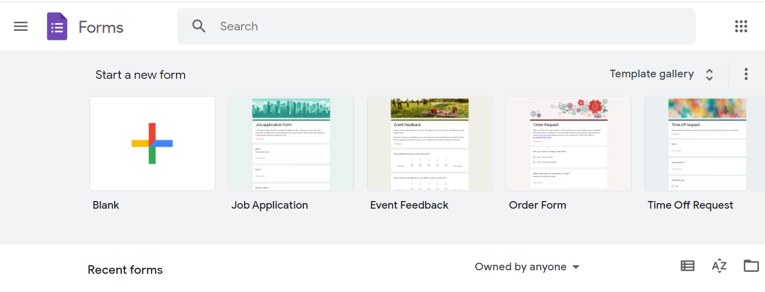 Google Forms is a free survey tool