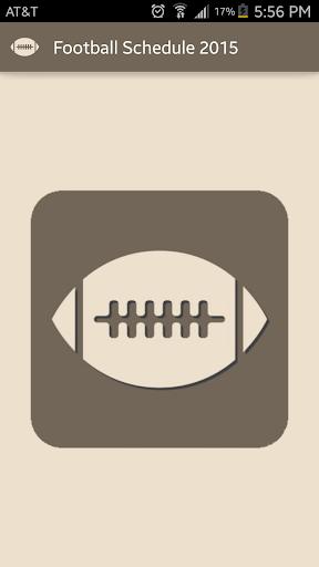 Football 2015 Schedule