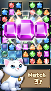 Jewel Castle - puzzle game poster