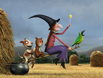 Room on the Broom - poster