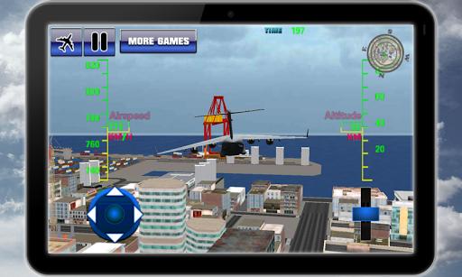 Transport plane simulator 3D