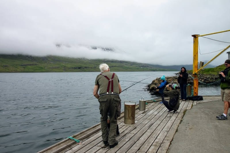fishing with Viking